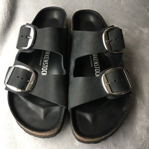 🖤 BIRKENSTOK Arizona Big Buckle Slide Sandal 🖤